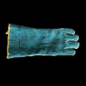 Green-yellow gloves